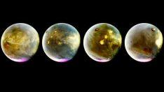 Dünya Mars'ı ilk kez böyle gördü!