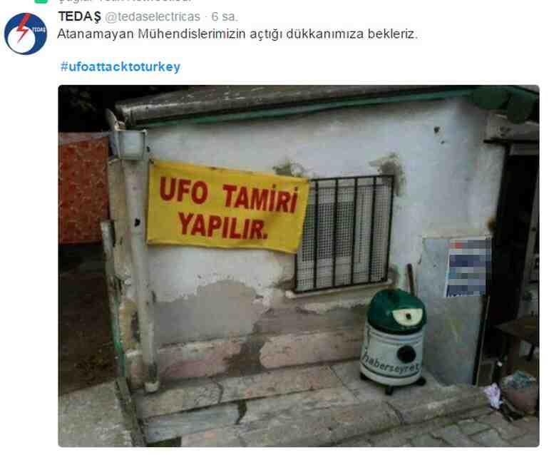 Twitterda UFO görüntüleri sosyal medyayı karıştırdı