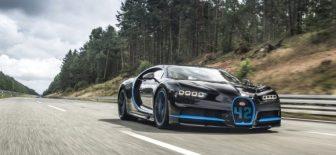 Bugatti Chiron 400km ye çıkıyor!