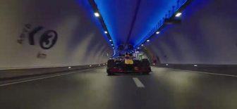 Formula 1 İstanbul Avrasya Tüneli'nden Böyle Geçti